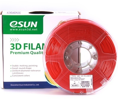 Buy eSun ABS+ 3D Filament 1.75mm 1kg - Red online